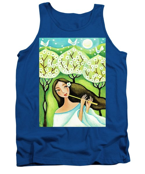 Forest Melody Tank Top