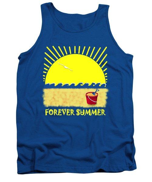 Forever Summer 8 Tank Top by Linda Lees