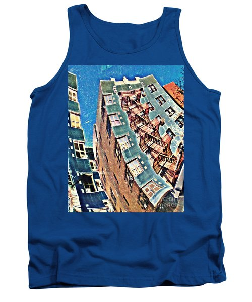 Fort Washington Avenue Building Tank Top