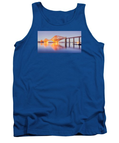 Forth Bridge Sunset Tank Top