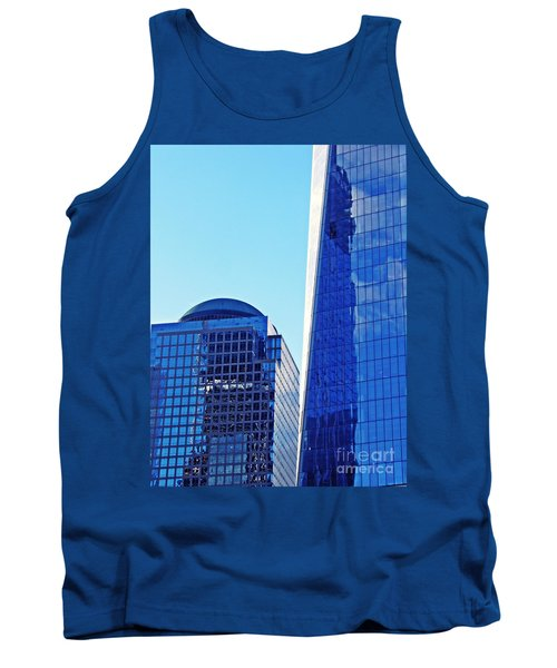 Tank Top featuring the photograph Freedom Tower And 2 World Financial Center by Sarah Loft