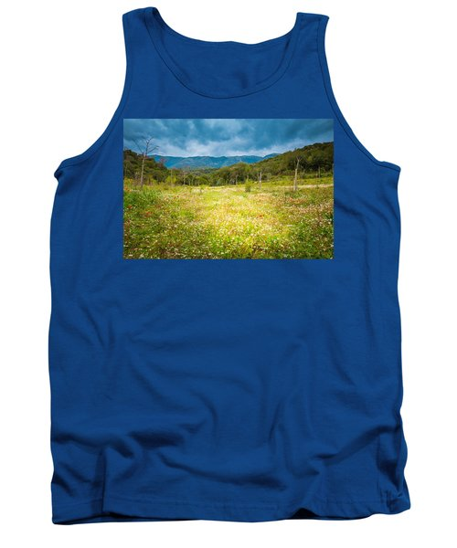 From Winter To Spring Tank Top by Stavros Argyropoulos