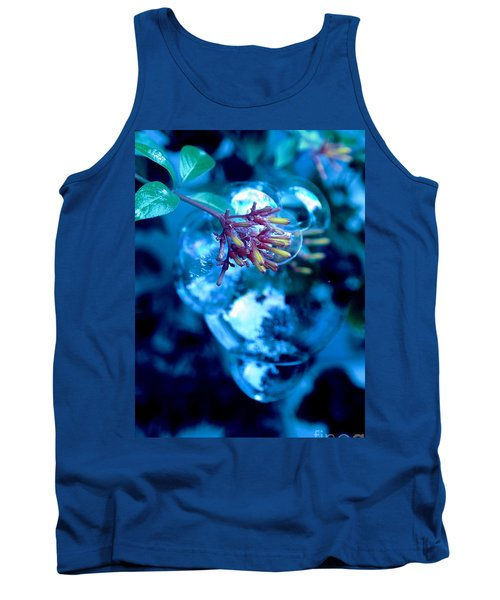 Tank Top featuring the photograph Frozen In Time by Irma BACKELANT GALLERIES