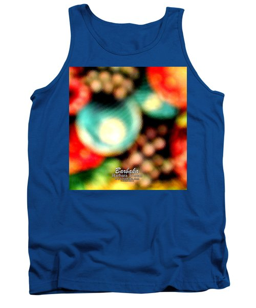 Tank Top featuring the photograph Fruit Sticker by Barbara Tristan