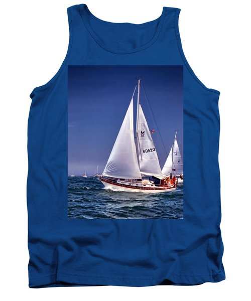 Full Sail Ahead Tank Top