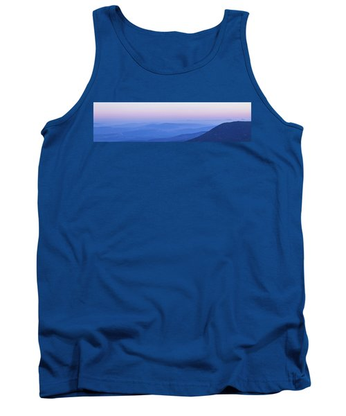 Tank Top featuring the photograph Galilee Mountains Sunset by Yoel Koskas