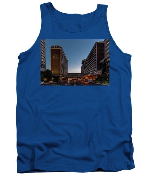 Tank Top featuring the photograph Galt House Hotel And Suites by Randy Scherkenbach