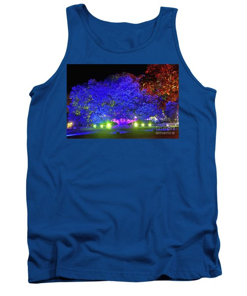 Tank Top featuring the photograph Garden Of Light By Kaye Menner by Kaye Menner