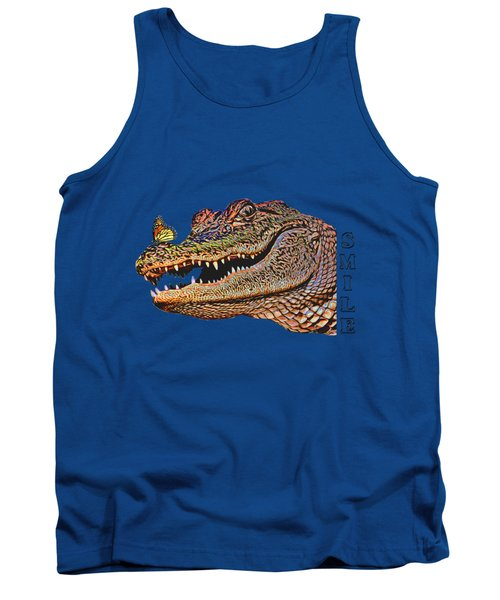 Gator Smile Tank Top by Mitch Spence