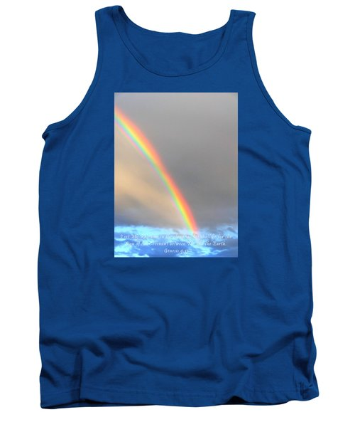 Tank Top featuring the photograph Genesis Rainbow by Lanita Williams