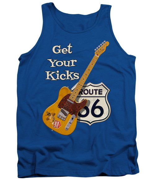 Get Your Kicks Tank Top by WB Johnston