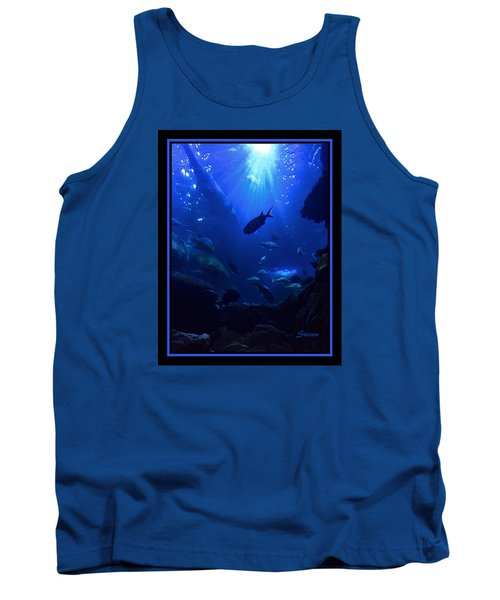 Tank Top featuring the photograph Getting Along by Steven Lebron Langston