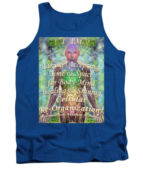 Tank Top featuring the digital art Getting Super Chart For Affirmation Visualization V3u by Christopher Pringer