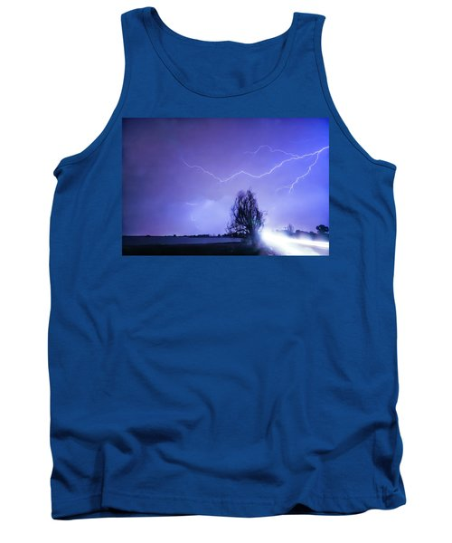 Tank Top featuring the photograph Ghost Rider by James BO Insogna