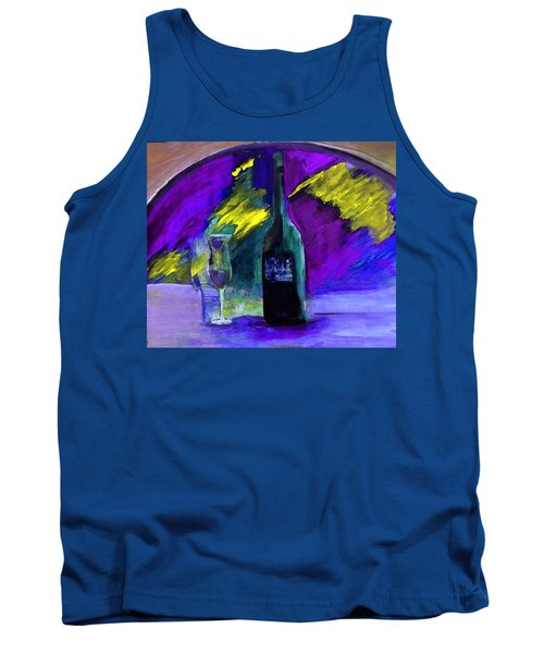 Tank Top featuring the painting Ghost Wine by Lisa Kaiser