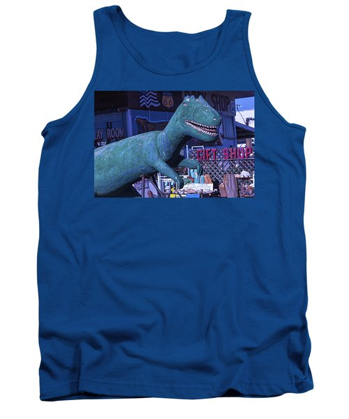 Gift Shop Dinosaur Route 66 Tank Top