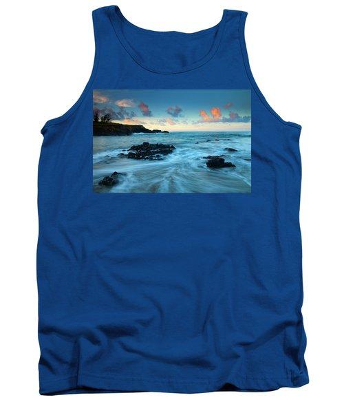 Glass Beach Dawn Tank Top by Mike  Dawson
