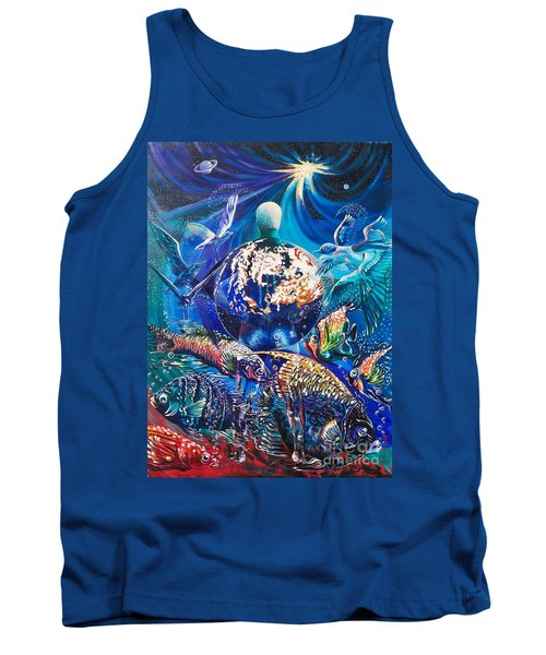 Planet  Earth - Our Family Tree Tank Top