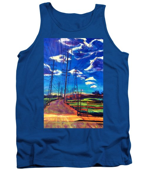 Glorious Afternoon Tank Top by Bonnie Lambert