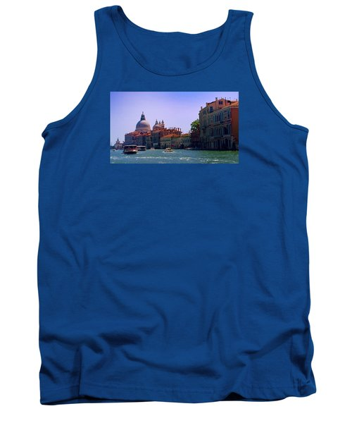 Tank Top featuring the photograph Glorious Venice by Anne Kotan