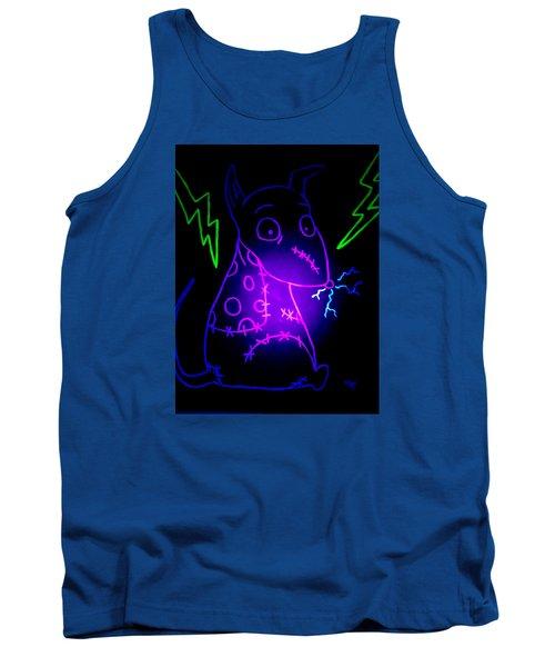 Glow Frankenweenie Sparky Tank Top