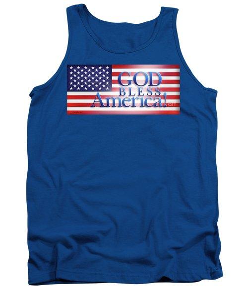 God Bless America Tank Top