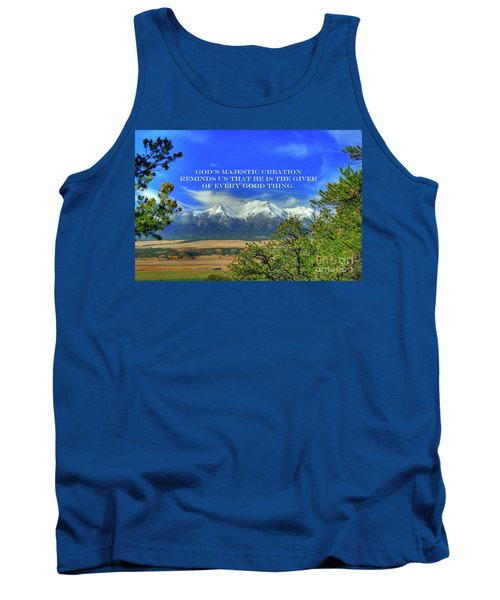 God's Majestic Creation Tank Top