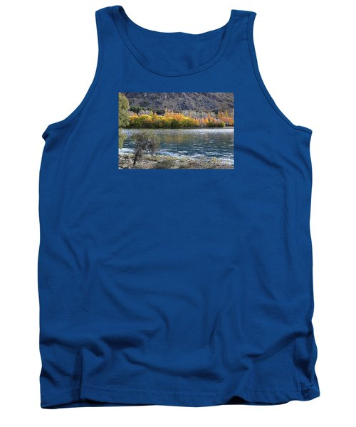 Gold Across The Water Tank Top