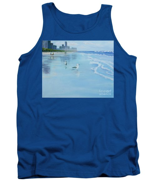 Gold Coast Australia, Tank Top by Genevieve Brown