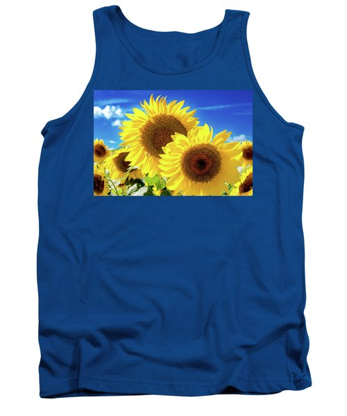 Tank Top featuring the photograph Gold by Greg Fortier