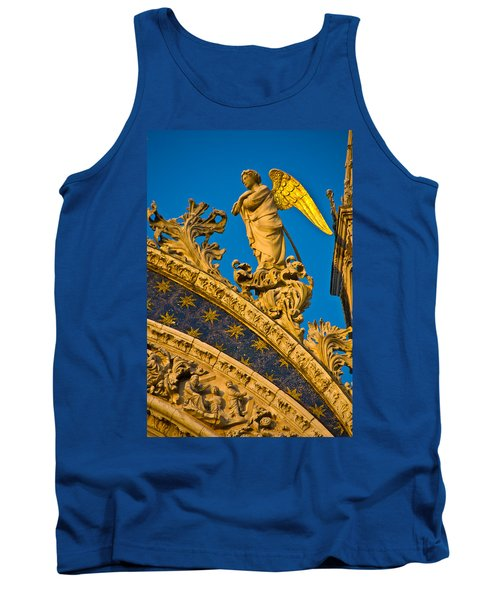 Golden Angel Tank Top by Harry Spitz