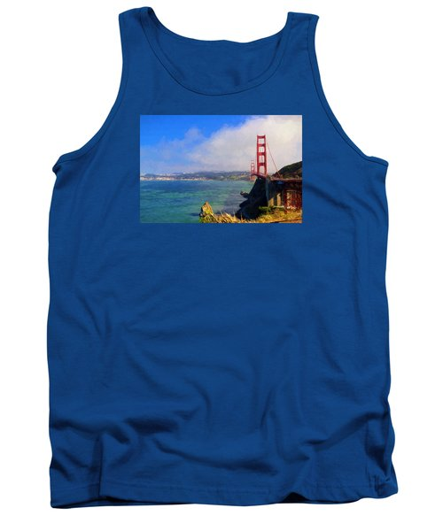 Golden Gate Tank Top by Greg Norrell