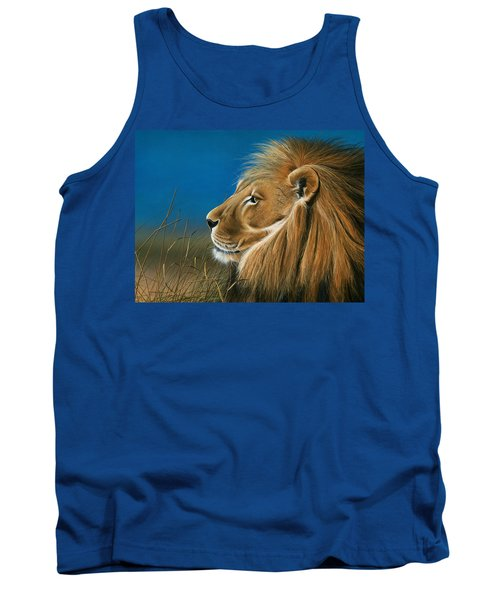Golden Sentinal Tank Top