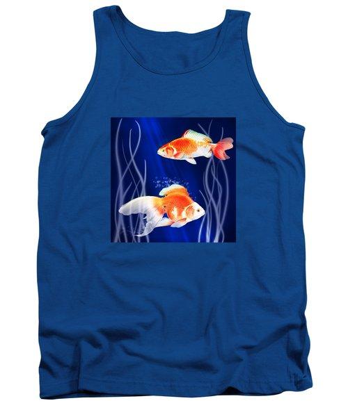 Goldfish Aglow Tank Top