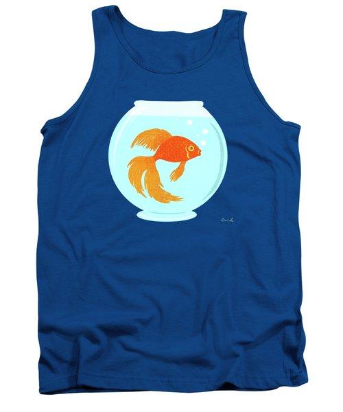 Goldfish Fishbowl Tank Top