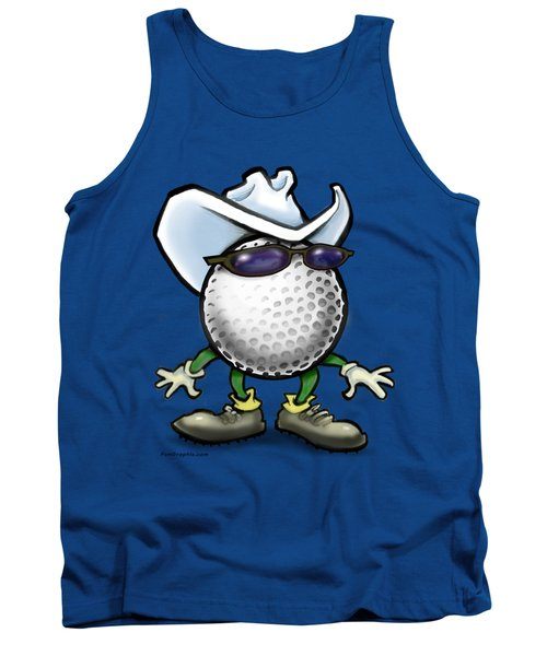 Golf Cowboy Tank Top