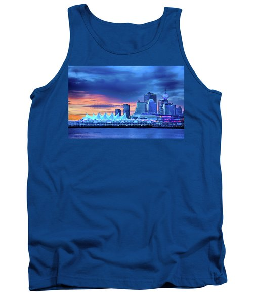 Tank Top featuring the photograph Good Morning Vancouver by John Poon