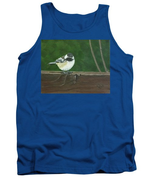 Good Morning Tank Top by Wendy Shoults