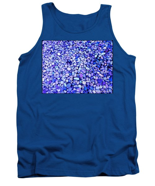 Got  The  Blues Tank Top by MaryLee Parker