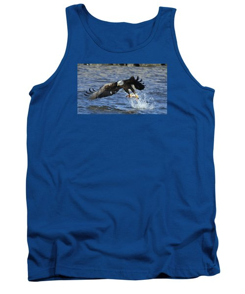 Tank Top featuring the photograph Grabbing Some Dinner by Coby Cooper