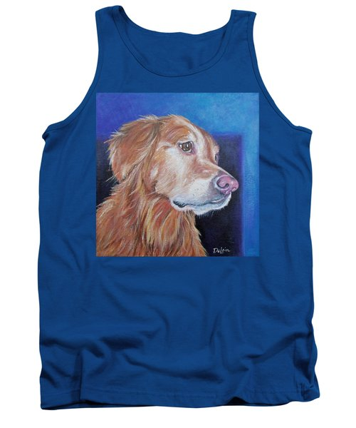 Tank Top featuring the painting Gracie by Susan DeLain