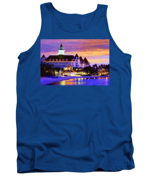 Grand Floridian Tank Top by Caito Junqueira