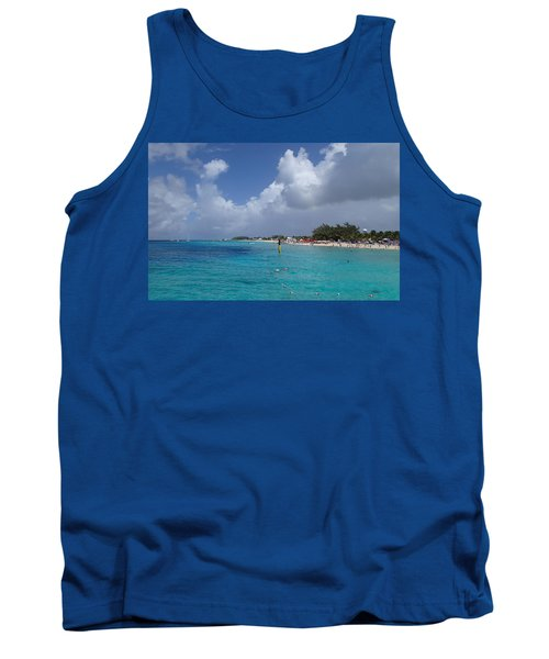 Grand Turk Beach Tank Top by Lois Lepisto