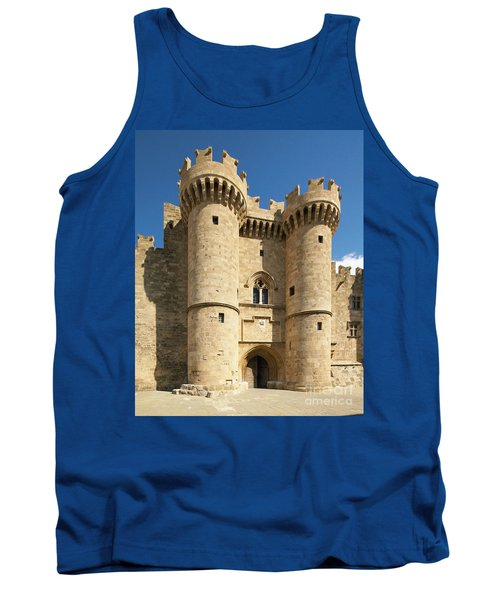 Grandmaster Palace Rhodes Island Greece 1 Tank Top