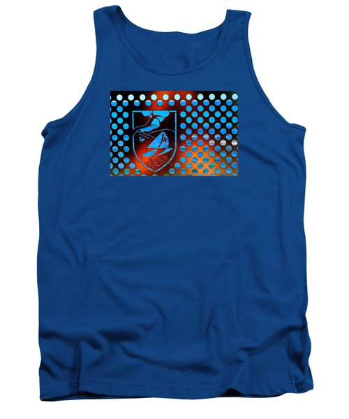 Tank Top featuring the photograph Grate View by Richard Patmore