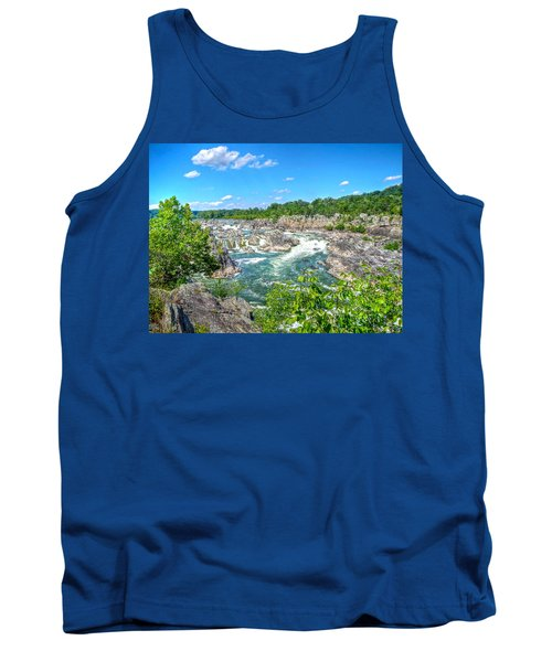 Great Falls On The Potomac Tank Top