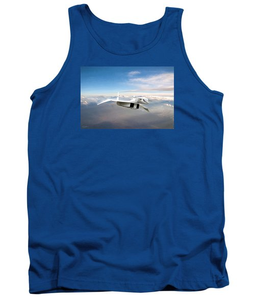 Great White Hope Xb-70 Tank Top by Peter Chilelli