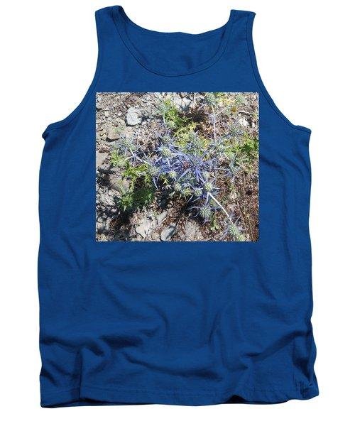 Greek Spiky Plant Tank Top