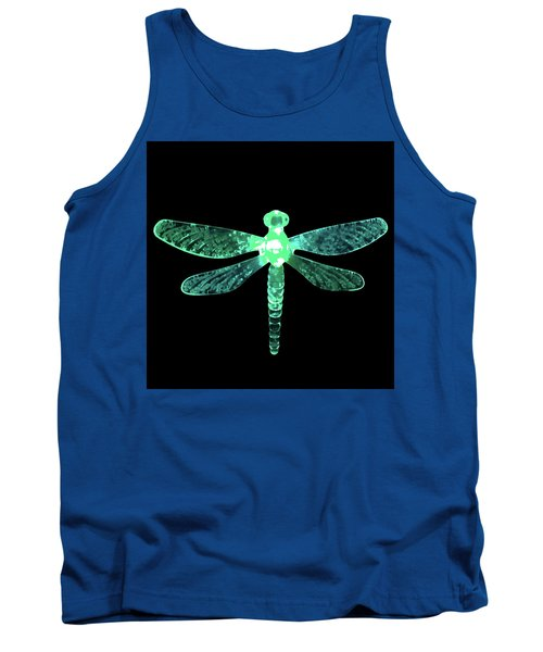 Green Dragonfly Tank Top