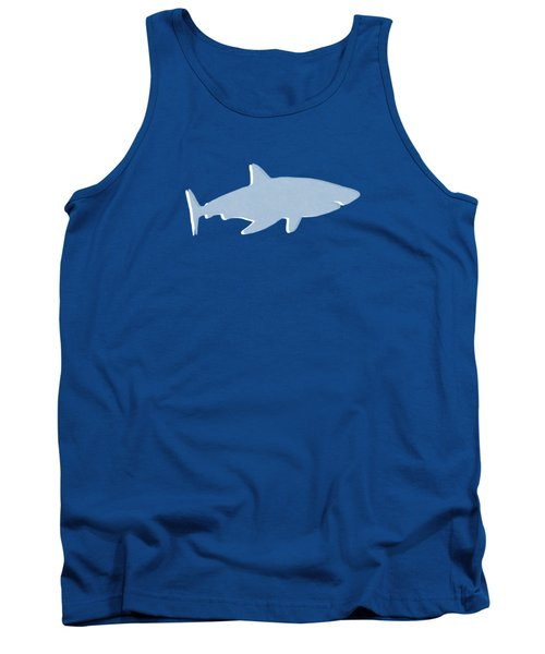 Grey And Yellow Shark Tank Top